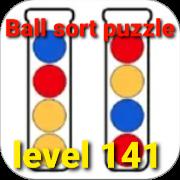Ball Sort Puzzle(ボールソートパズル)攻略「レベル141」の問題と答えまとめ