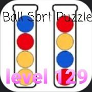 Ball Sort Puzzle(ボールソートパズル)攻略「レベル129」の問題と答えまとめ
